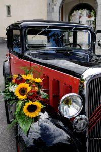 wedding old timer rental Switzerland