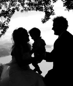Family photos in Switzerland