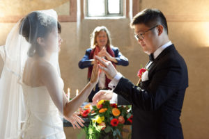 wedding officiant Switzerland English