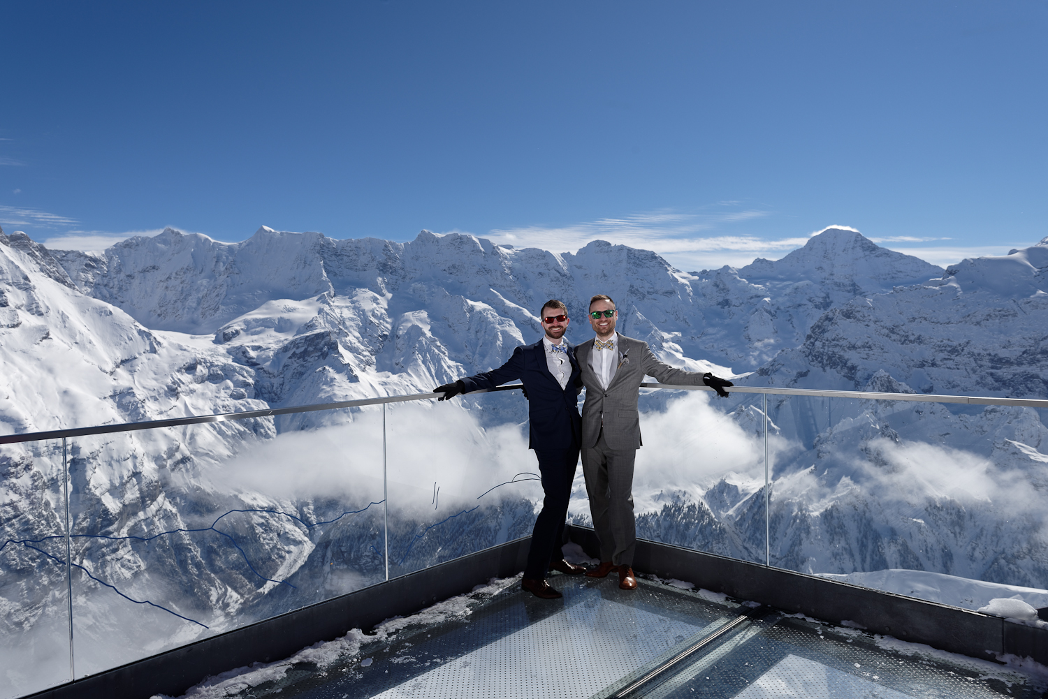 Schilthorn wedding organization Switzerland