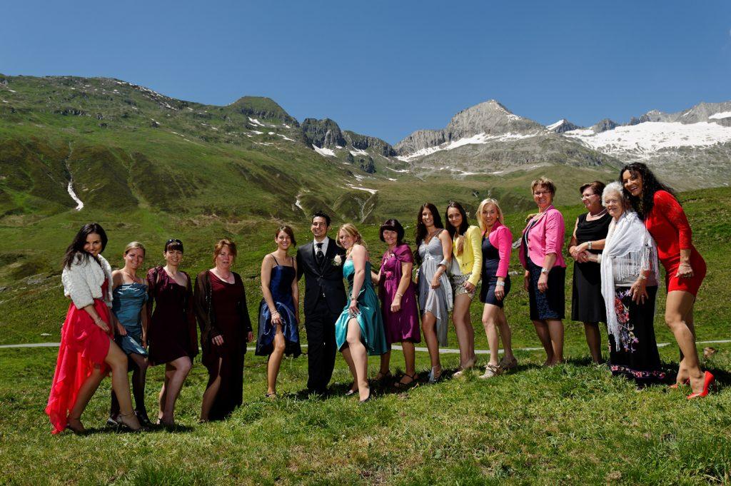 Belalp Wallis Hochzeitsfotograf