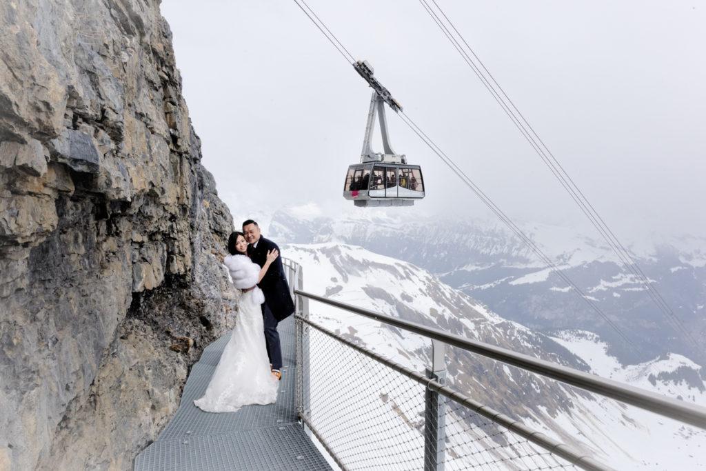 schilthorn pre wedding photographer