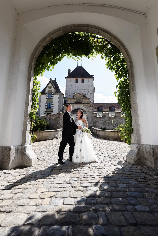 Die Ziviltrauungen finden im Gartensaal mit Sicht auf den Schlosspark