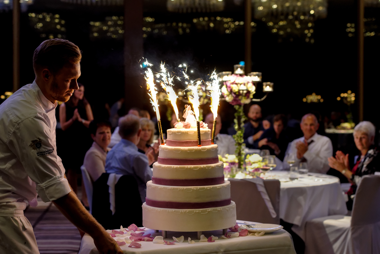 Hochzeitsfotograf Bürgenstock Resort Luzern, Hochzeitstorte