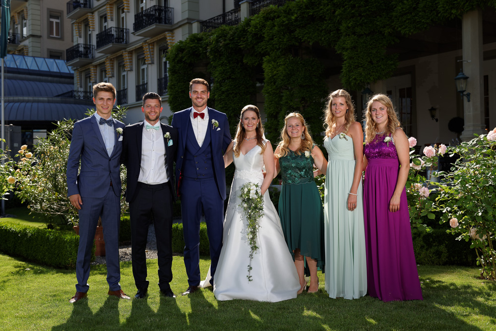 professionelle Gruppenfotos Hotel Victoria Jungfrau