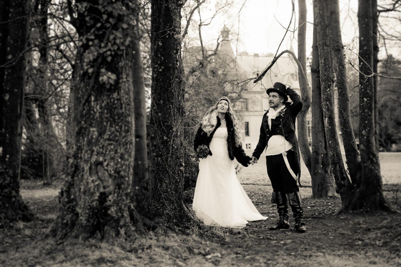 Steam Punk Hochzeitsshooting, Steam Punk Fotoshooting, Hochzeitsfotograf Thun, Hochzeit Schloss Schadau, Steam Punk Hochzeit im Schloss Schadau