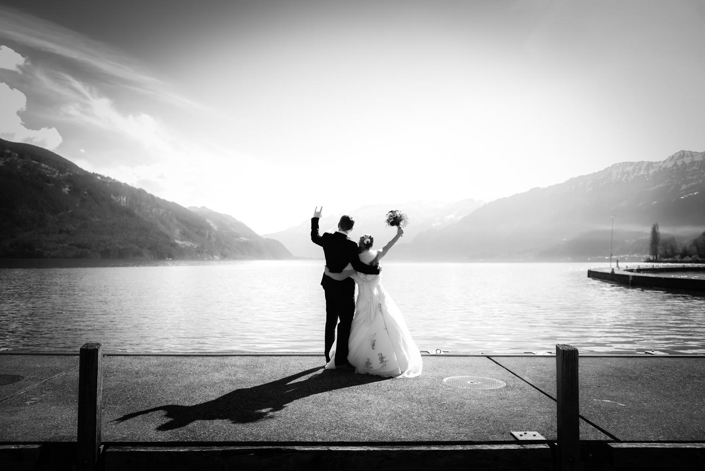 Fotoshooting in Faulensee, Hochzeit im Berner Oberland, Neuhaus am Thunersee