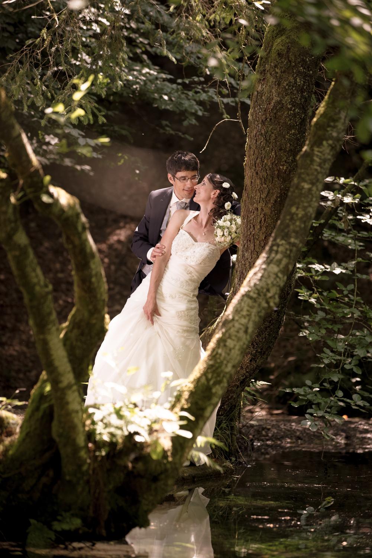 Romantisches Hochzeitspaar im Oberaargau