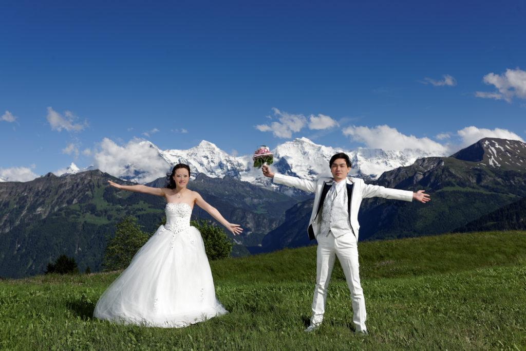 Asia couples prewedding
