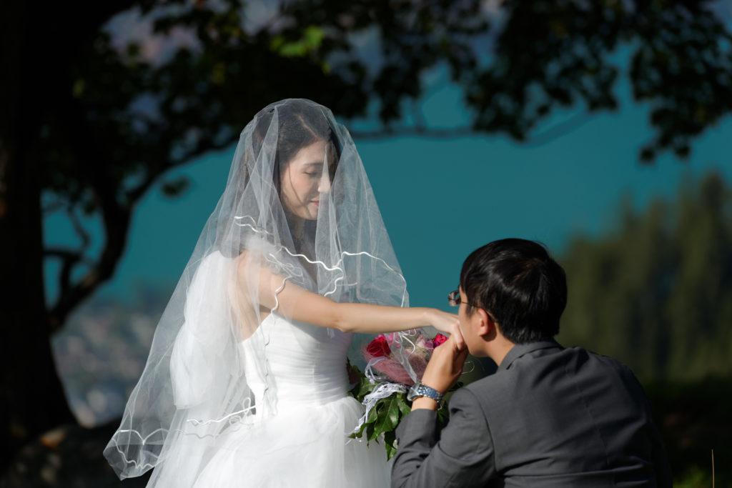 Switzerland China Wedding Photography