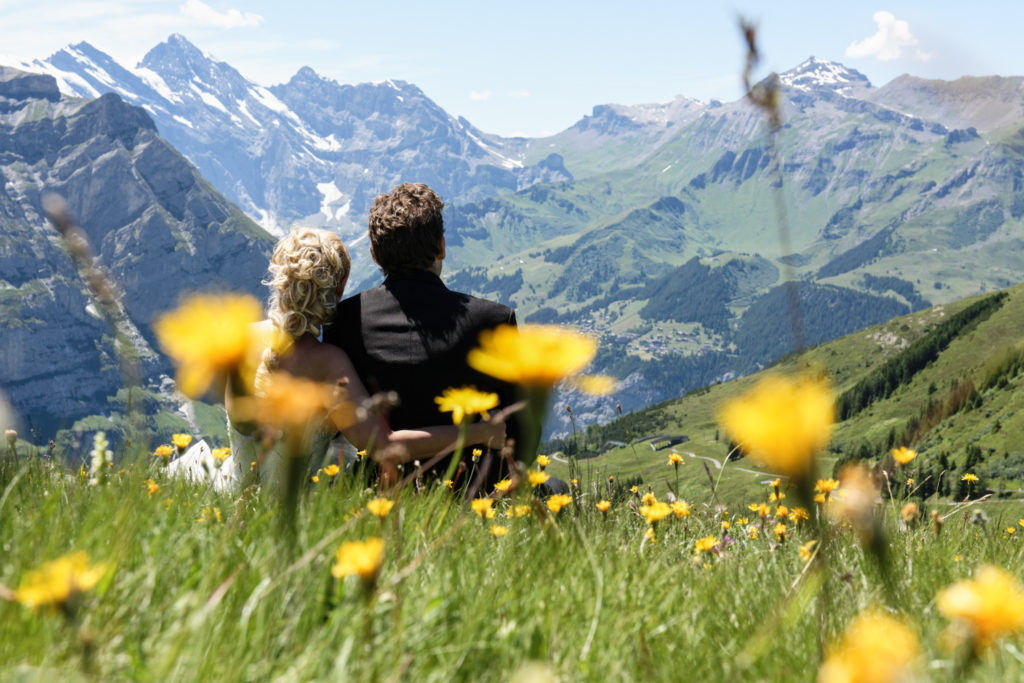 Swiss Alps Destination Wedding photographer