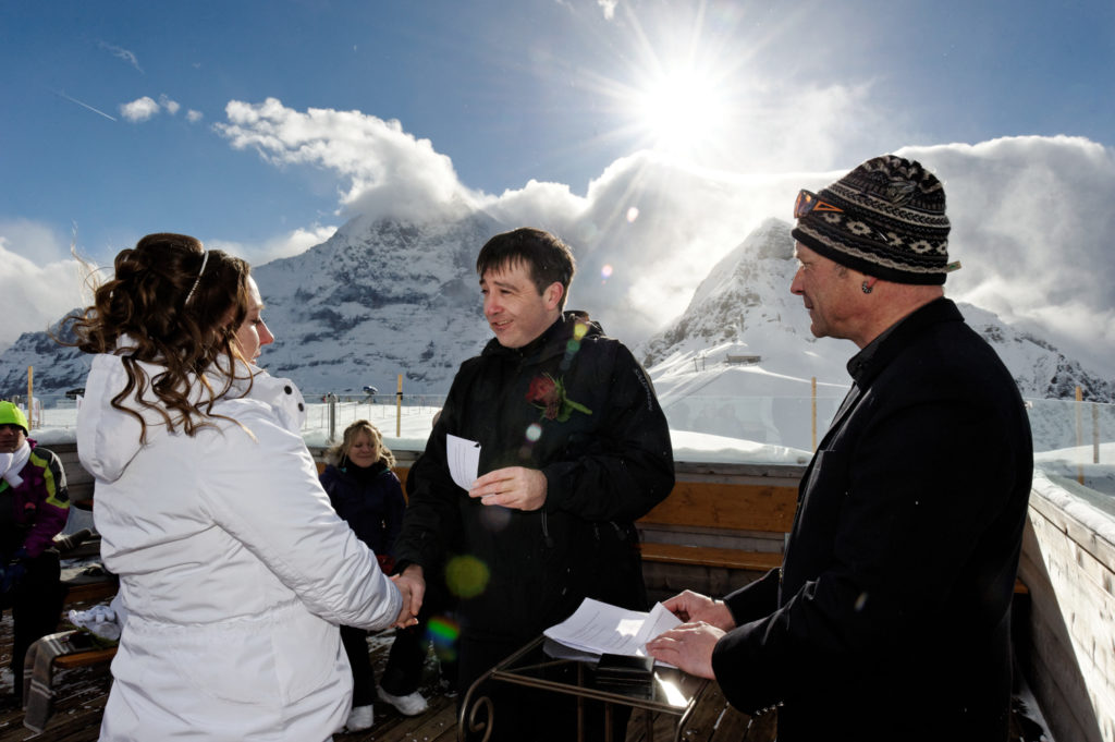 Swiss Wedding officiant Switzerland
