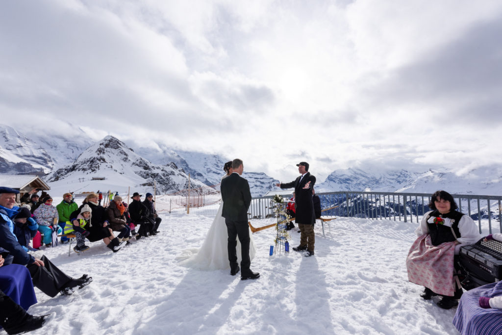 Mountain Switzerland Wedding photographer