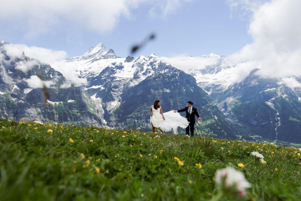 Destination Switzerland Wedding Photographer