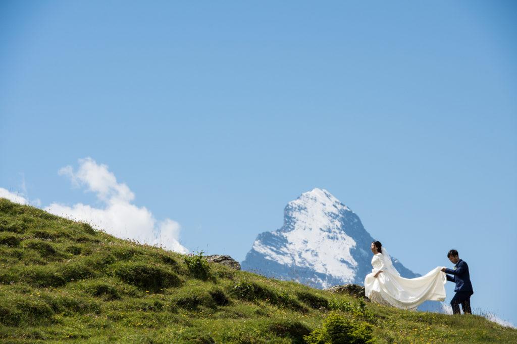 switzerland wedding video, photographer, officiant team