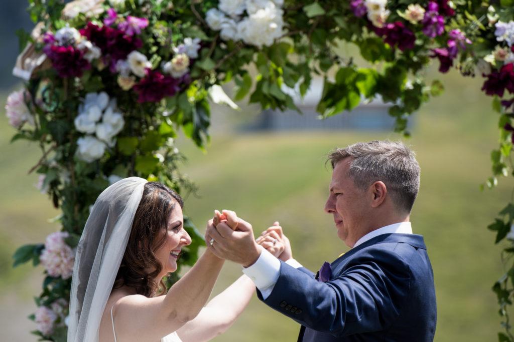 Wengen, Interlaken, Switzerland Symbolic wedding