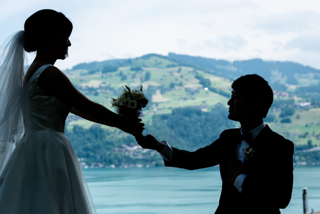 hotel bellevedere Spiez Wedding