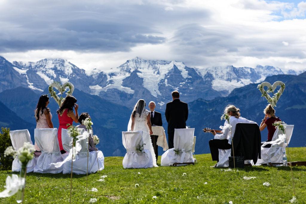 Swiss Alps Wedding ceremony planner