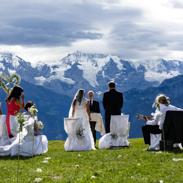 Switzerland Mountain Location Symbolic Ceremony