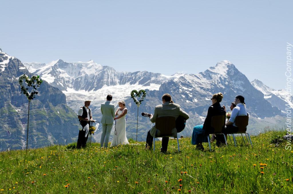 Grindelwald, Muerren, Beatenberg, Interlaken Wedding planning