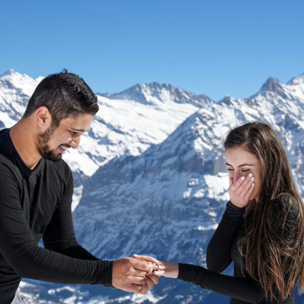 Swiss Wedding Proposal Photographer