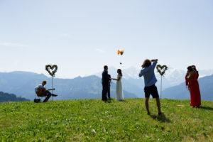 Interlaken Professional wedding proposal photographer