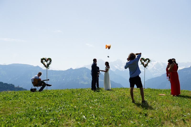 Interlaken Professional wedding proposal photographer