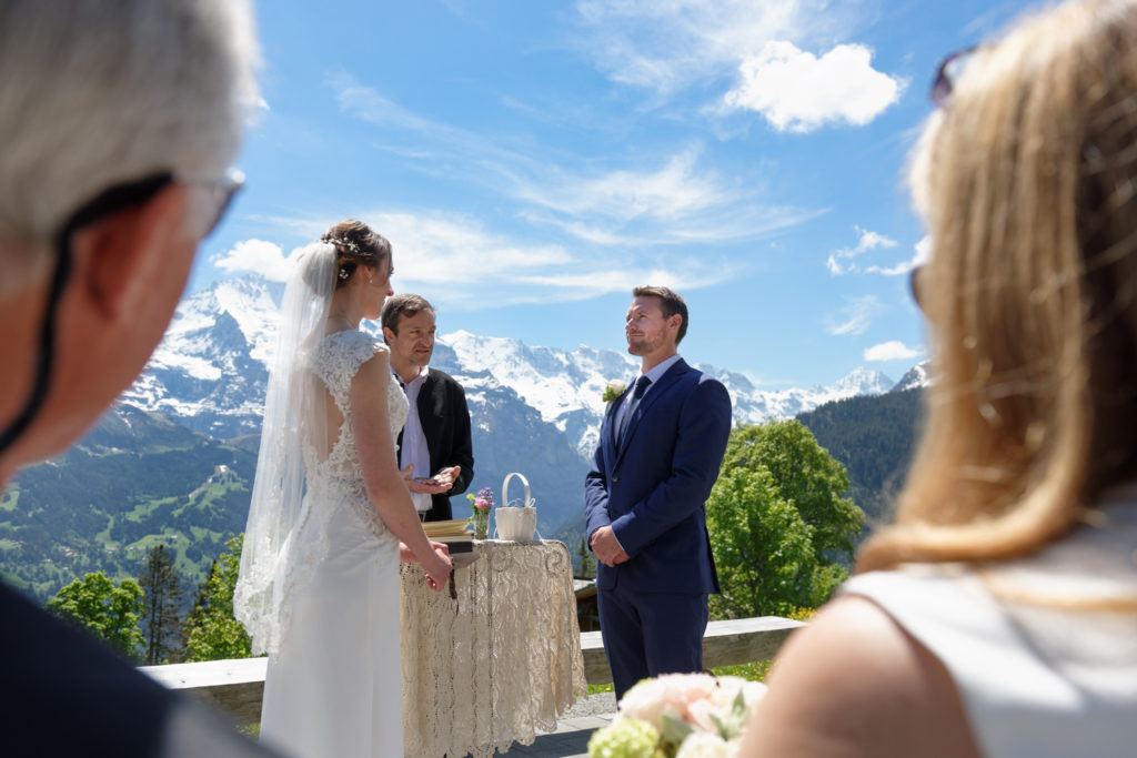 symbolic wedding muerren
