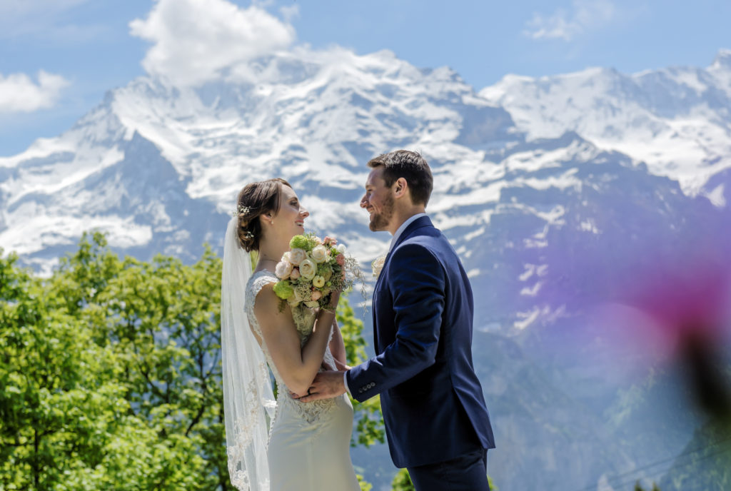 Engagement Wengen Switzerland