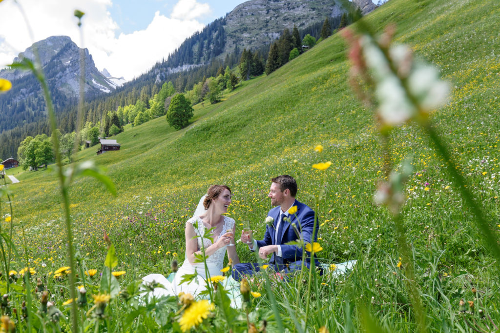 Photographer elopement Wengen