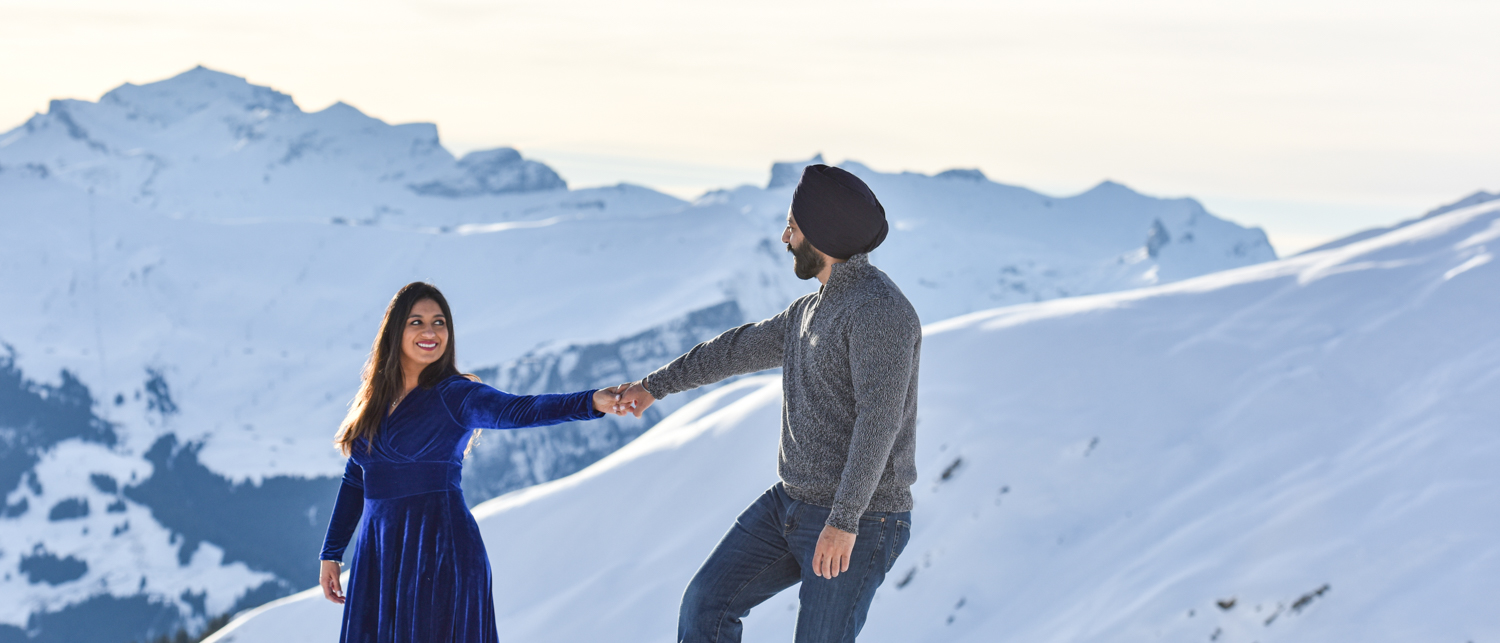 switzerland engagement photography