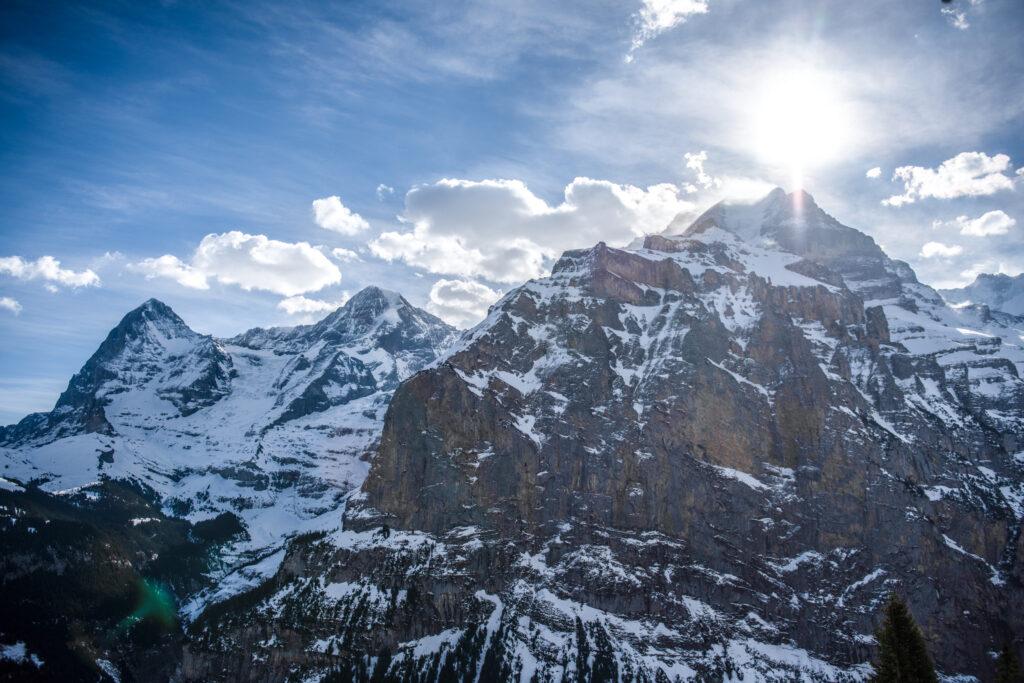 Switzerland Elopement Mountain location