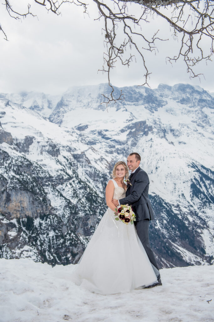 photographer for your winter mountain elopement