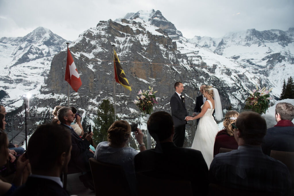 Switzerland elopement planning and officiating