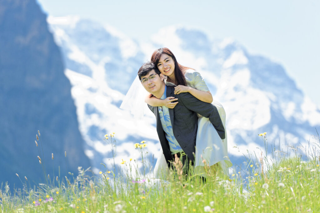 Wedding Proposal Interlaken