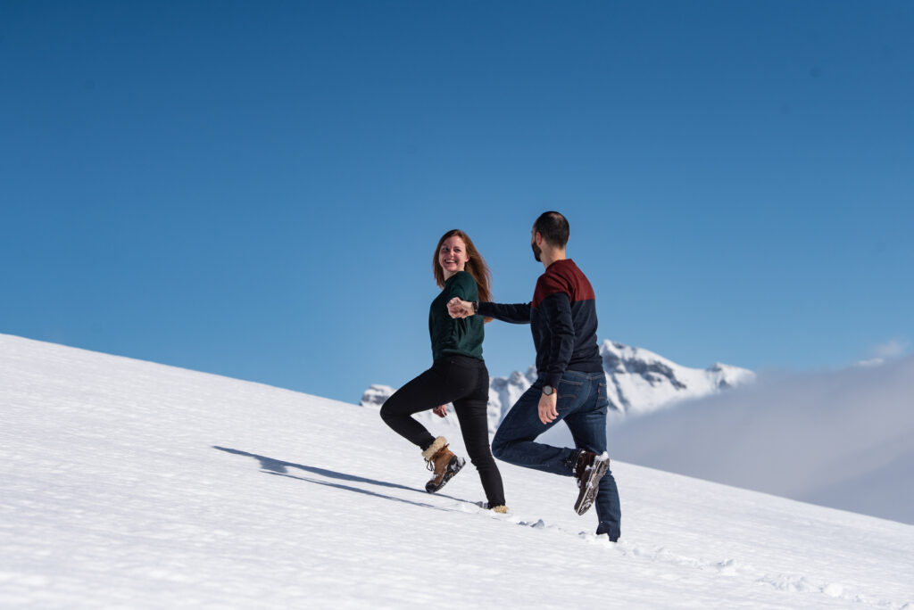Grindelwald proposal photographer