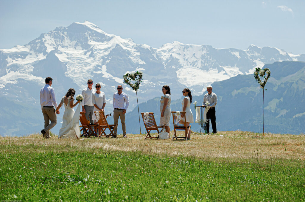 nature wedding muerren
